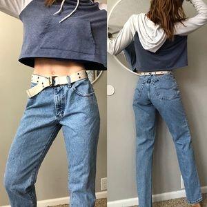 Vintage Lee high waist dad jeans